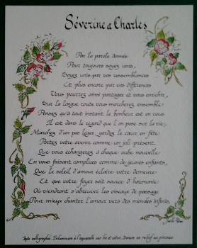poeme-mariage-personnalise-dore-en-relief-au-pinceau